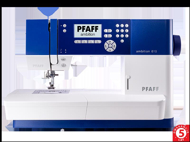 Super Maszyna do szycia Pfaff Quilt Ambition 610 - genialny IDT System! AE45